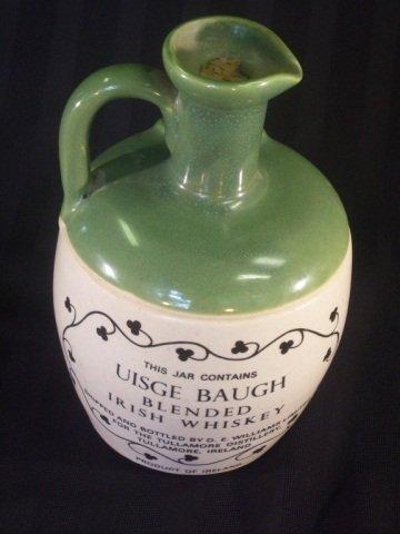 966: Vintage Stoneware Whiskey Jug Tullamore Dew - 3