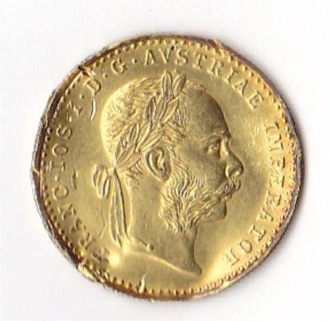 6: 1915 Gold Austrian Ducat