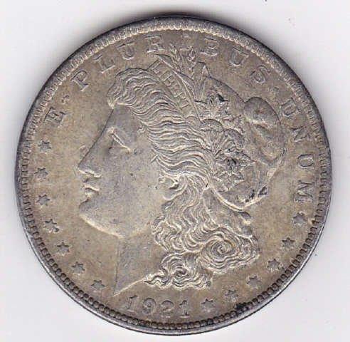 16: 1921 Silver Morgan Dollar