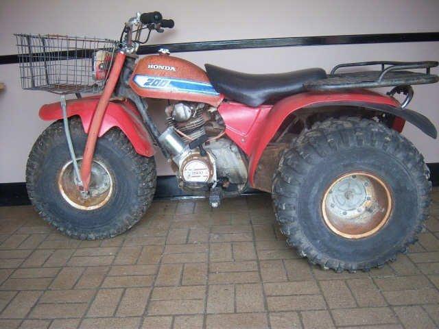 1: Vintage Honda 200 3-Wheeler