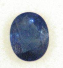17: 2.55 Carat Blue Sapphire