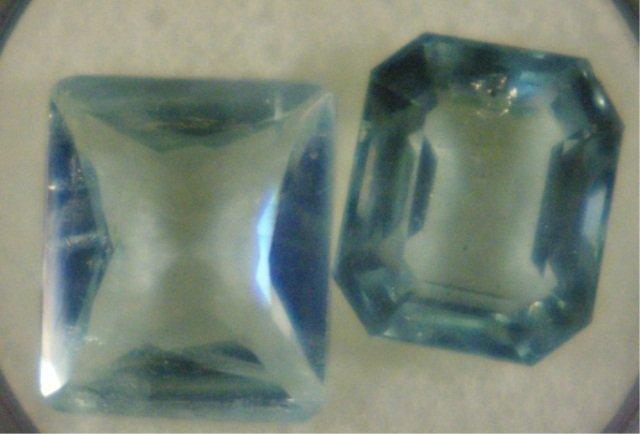 20: 2 - Aquamarine Total Carat Weight 12.21 Carats