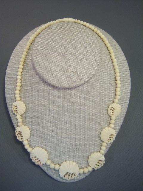 22: Ivory Necklace and Bracelet Set