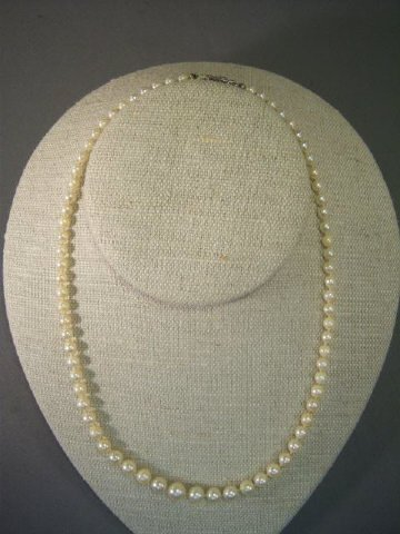 """24: 16 Pearl Necklace"""""""