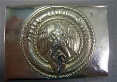 474: German WWII Hitler Youth Enlisted Mans Belt Buckle