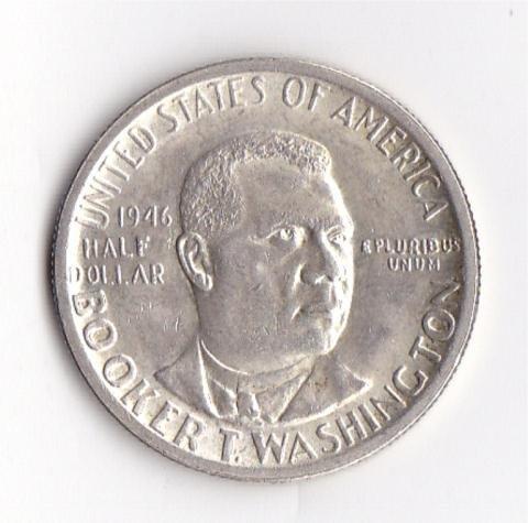 13: 1946 Booker Washington Commemorative Half Dollar