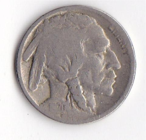 20: 2 - 1920 Buffalo Nickels and 1924 Buffalo Nickel