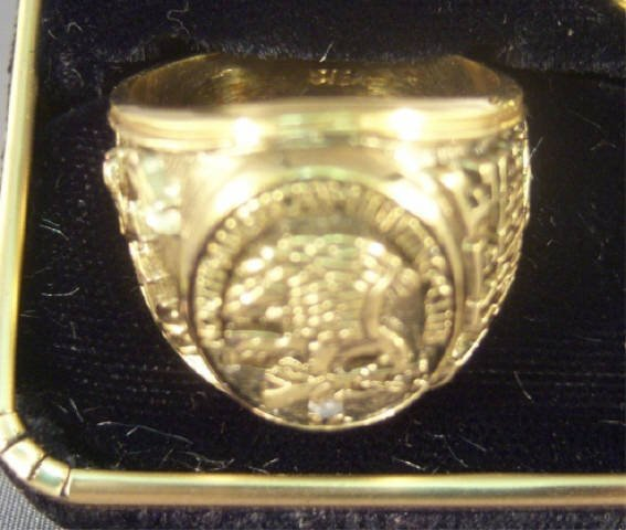 224: North American Hunting Club Ring and Pin w/ Diamon - 2