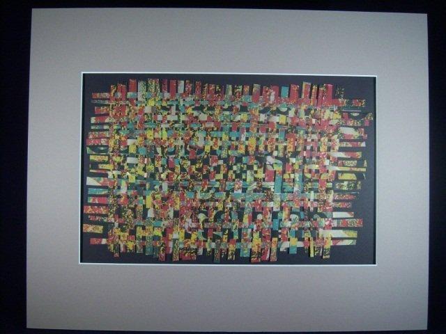 "300: Weaver"" Silk Screen Paper by Ken Reshard"""