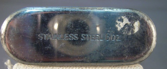 450: Crown Royal Stainless Steel 6oz Flask - 5