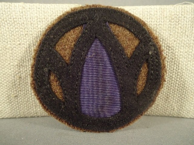 5: US WWI Army 89th Infantry Division Shoulder Patch