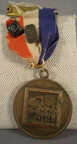 11: US 1928 Master Pioneer Named Decoration. Includes