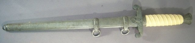 14: German World War II Army Officers Dagger & Scabbad