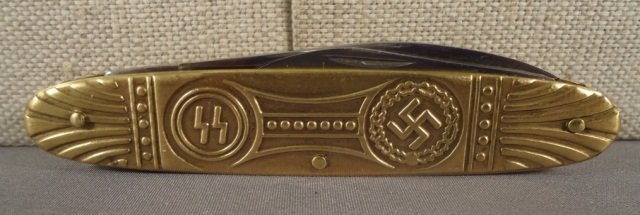 20: German World War II Waffen SS Pocket Knife
