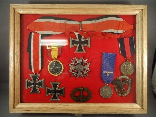 24: German WWII Naval Knights Cross Winner Medal&Badge