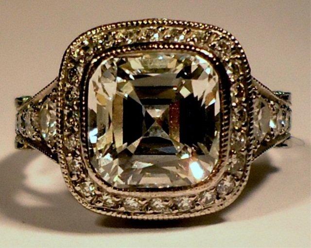 291: 3.16 CTTW Tiffany & Co. Legacy Diamond Ring