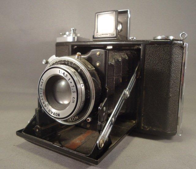 Zeiss Ikonta 521/16 Camera Vintage 1940's/1950's