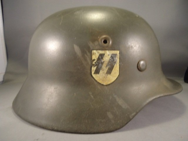 GermanWWII WaffenSS Single Decal M40 Combat Helmet