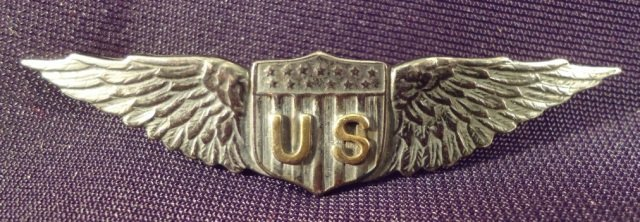 US WW I Signal Corps Aviation Pilot Wings