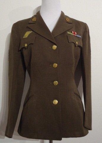 WWII U.S. Womens  Army Corps Ladies Uniform Jacket
