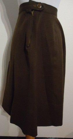 WWII U.S. Womens Army Corps Ladies Uniform Skirt