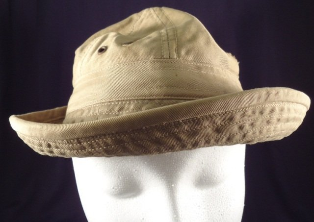WWII Womens Army Corps Boonie Hat & Hood