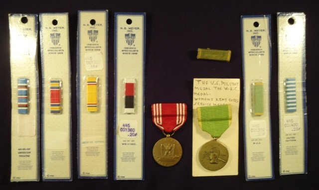 Assorted U.S. Medals and Ribbons