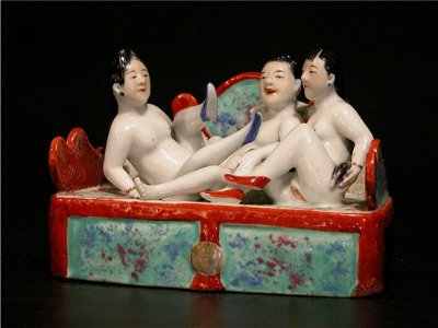 208: Erotic Porcelain Figures, Early Republican Period
