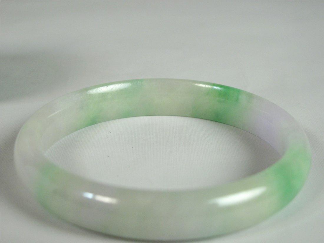20: A Chinese Jadeite Bangle Bracelet