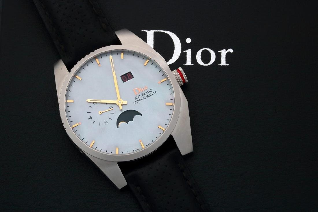 Limited Christian Dior Moonphase Chiffre Rouge Watch