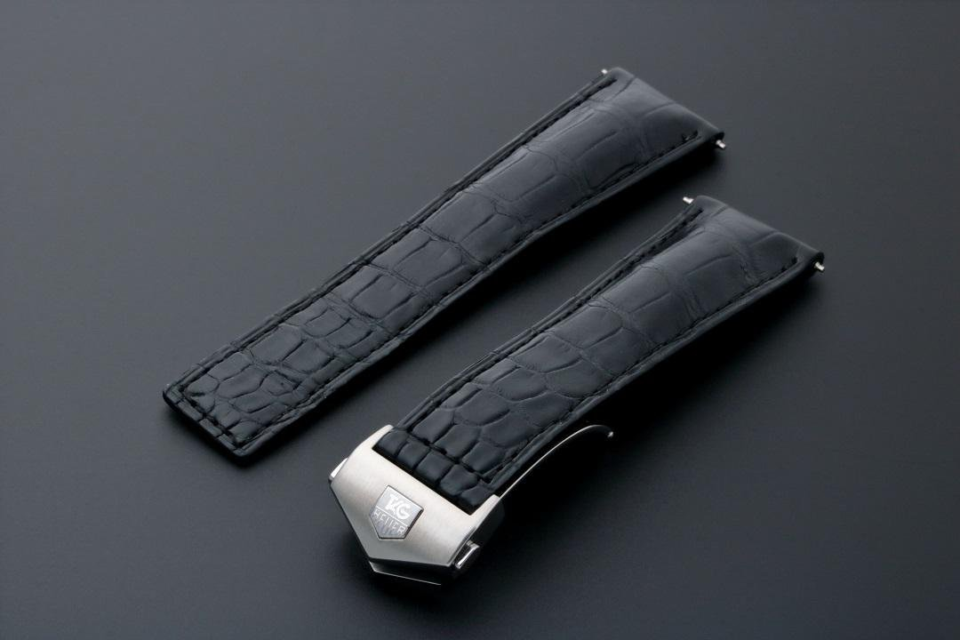 Tag Heuer Leather Watch Strap 22MM FC5014