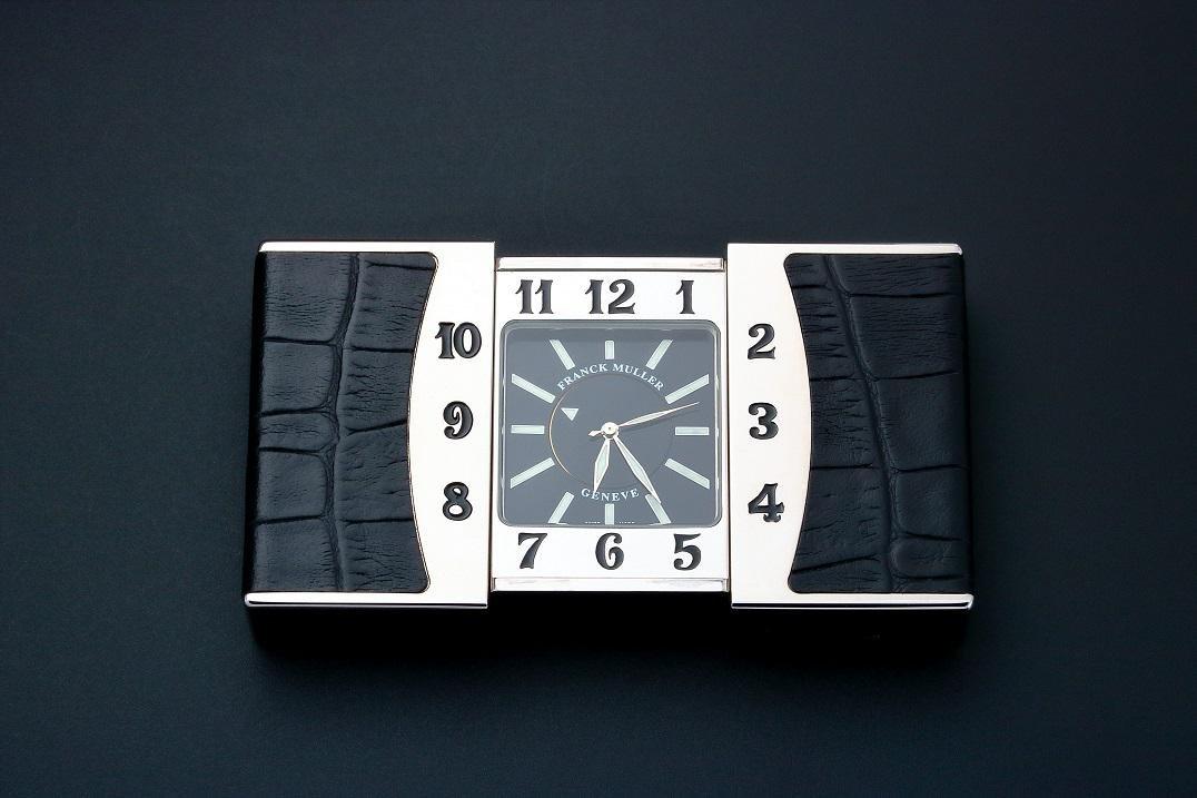 Franck Muller Ermeto Travel Alarm Desk Clock