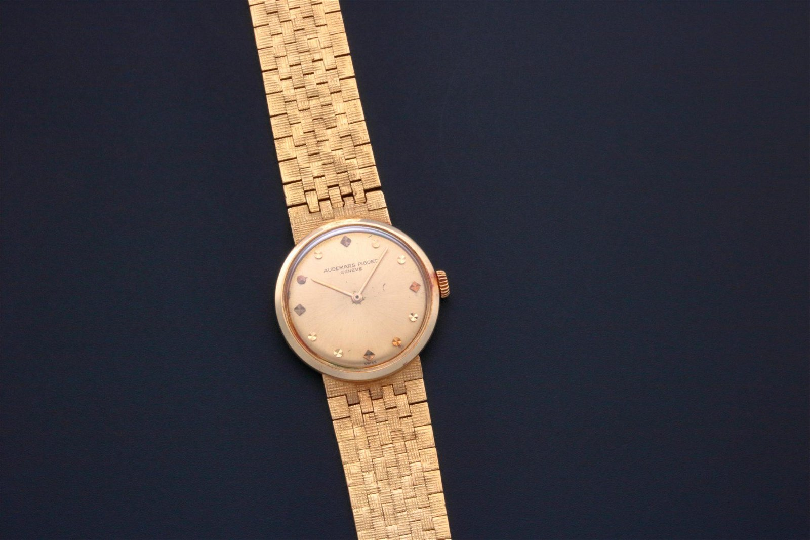 Audemars Piguet Vintage 18k Yellow Gold Cocktail Watch