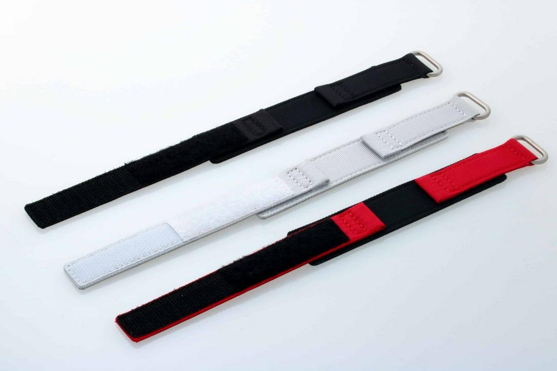Tokki Project Canvas Leather Watch Straps With Velcro
