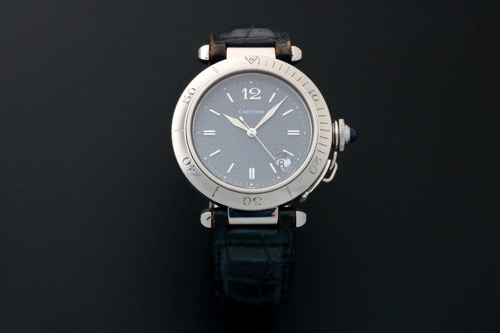 Cartier Pasha 38MM Watch Rotating Bezel W31017H3