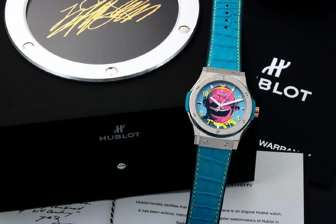 Hublot Fusion Yue Minjun Art Watch 542.NX.6699.LR.MYC16