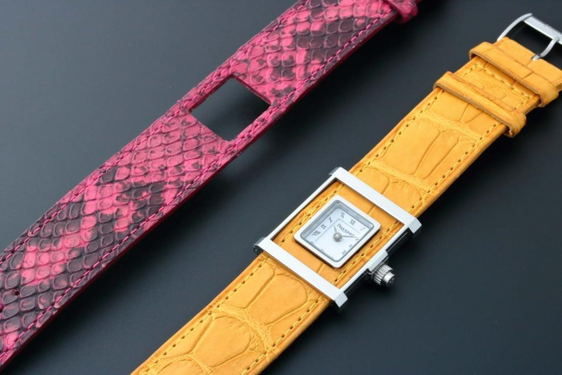 Ladies Pequignet Cameleone Watch With Extra Strap