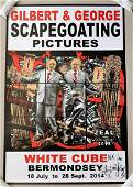 Gilbert & George Signed Scapegoating Pictures Zeal