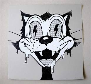 Cote Escriva Cat Screen Print Limited Edition of 60