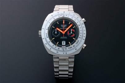 Heuer Calculator Chronograph Watch 110.633