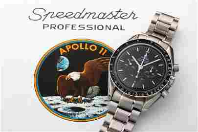 Limited Edition Omega Speedmaster Apollo 11 Moon Watch
