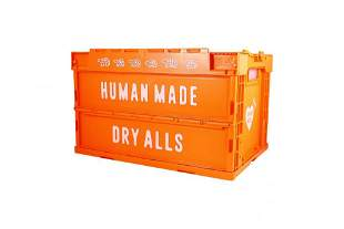 Human Made Dry Alls 50L Orange Storage Crate Container