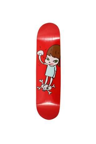 Yoshitomo Nara Solid Fist Skateboard Skate Deck