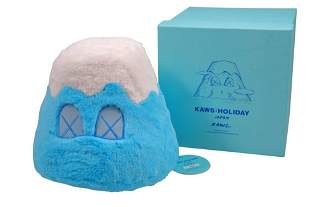 KAWS Holiday Japan Mount Fuji Plush Blue