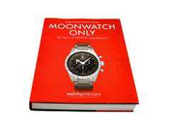 Moonwatch Only 60 Years of Omega Speedmaster Book by
