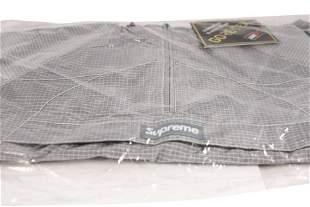 Supreme Gore-Tex Anorak Jacket Silver Size XL