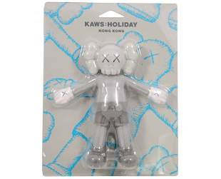 KAWS Holiday Hong Kong Floating Bath Toy Vinyl Figure