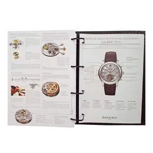 Rare Audemars Piguet Dealer Master Binder Catalog