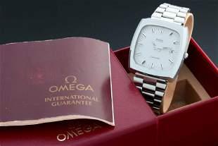 Vintage Omega TV Screen Seamaster Date Watch 166.0138