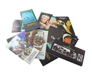 Vintage Rolex Brochures Cosmograph 6263 6265 Explorer